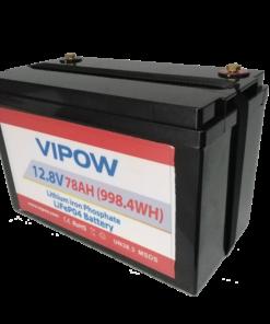 แบตเตอรี่ ลิเธี่ยม ไอออน ฟอสเฟต LiFePO4 78A12.8V